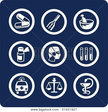Medicina y salud (p.1) para ver todos los iconos, búsqueda por palabras clave: