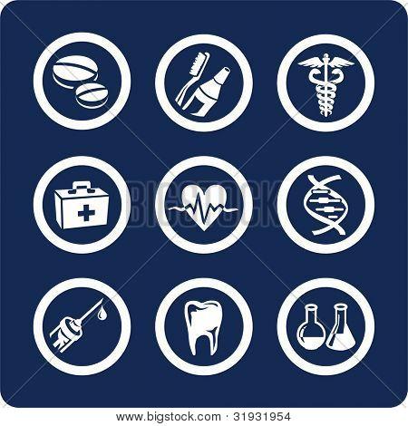Medicina y salud (p.2) para ver todos los iconos, búsqueda por palabras clave: