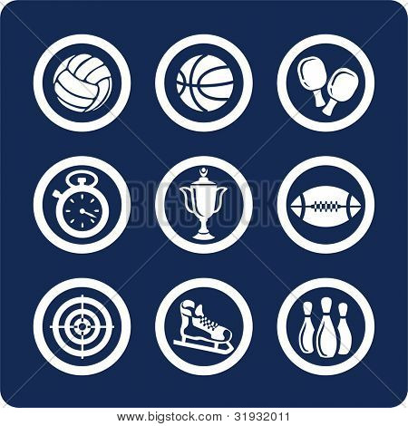 Sport (p.1). To see all icons, search by keywords: