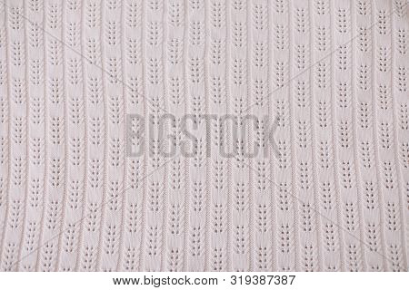 Knitted Background. Knitted Texture. Knitting Pattern Of Wool. Knitting. Texture Of Knitted Woolen F