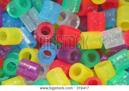 craft beads poster