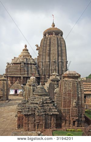 Lingaraja Hindu Temple, Orissa