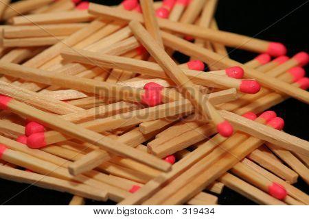Matchstick Pile