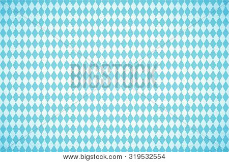 Oktoberfest Blue Geometric Pattern. Germanys Oktoberfest Worlds Biggest Beer Festival. Oktoberfest A
