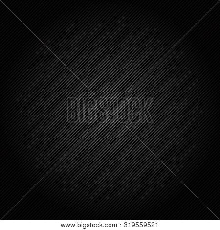 Illustration Of Black Carbon Fiber Seamless Background