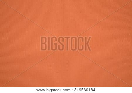 Focus Peach Color Background, Fabric Texture For Warm Elegant Background.