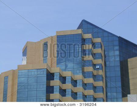 Modern Hotel Architecture Closeup
