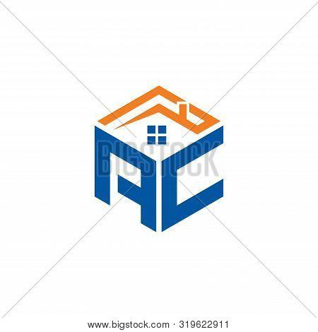 Abstract Polygonal Ac Logo, Ac Letter Logo, Polygonal Ac Logo Sing And Symbol, Ac Initial Logo Templ