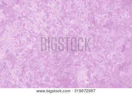 Light Pink Background. Paint Stains, Spots On Art Backdrop. Mottled Painted Card. Abstract Paper Tex