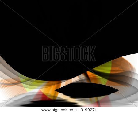 Abstract Autumn Swirl