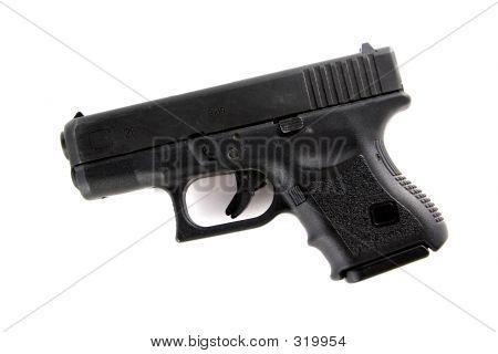 Police 9mm Hand Gun