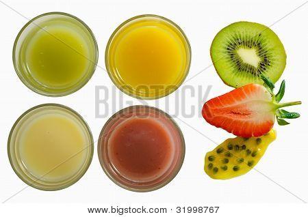 fresh fruit smoothies