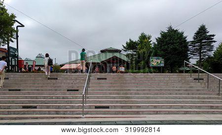 Oirase Roman Park, Take The Jr Bus Tohoku Toward Oirase Stream Will Pass This Road Station. Aomori,