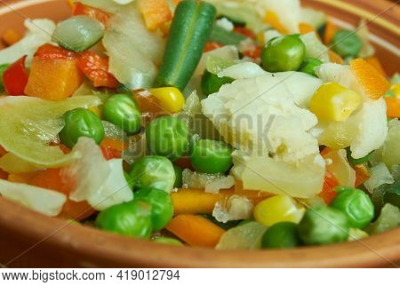 Leipziger Allerlei - Regional German Vegetable Dish, Saxon Cuisine