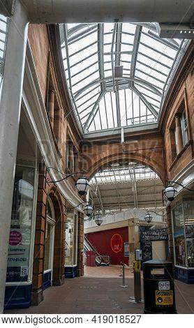 Carlisle, Cumbria, Uk, August 2020 - Carlisle Market Interior, Carlisle, Cumbria, Uk