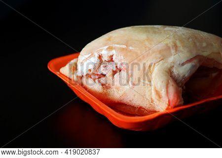 Freshly Dumped Frozen Chicken Tenderloin, Frozen Chicken Breast,