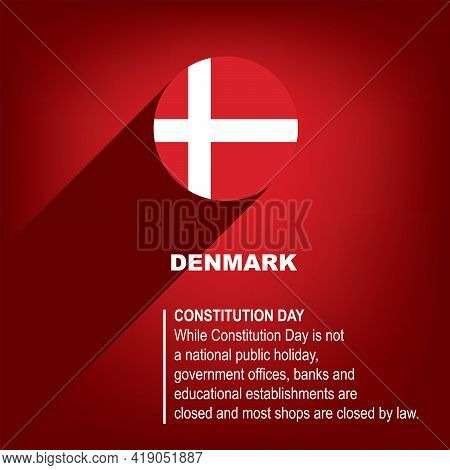 Holiday Constitution Day In Denmark Celebrated On June 5