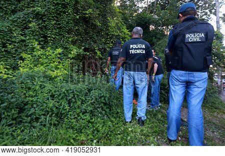 .police Investigation Site