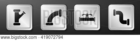 Set Industry Metallic Pipe, Industry Metallic Pipe, Industry Pipe And Valve And Industry Metallic Pi