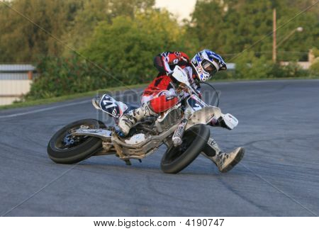 Backing It In At Amount 80Mph  Supermoto Michigan