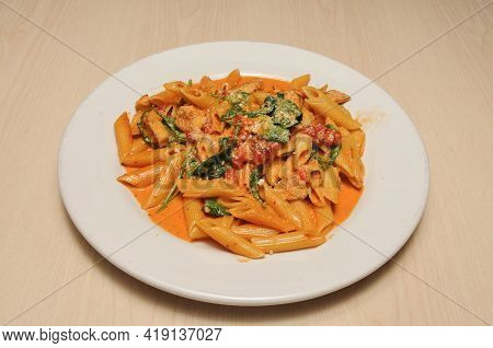 Delicious Italian Dish Known As Penne Alla Vodka