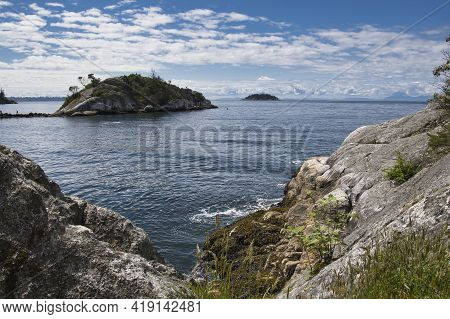 A View Of Whytecliff Park.   West Vancouver Bc Canada