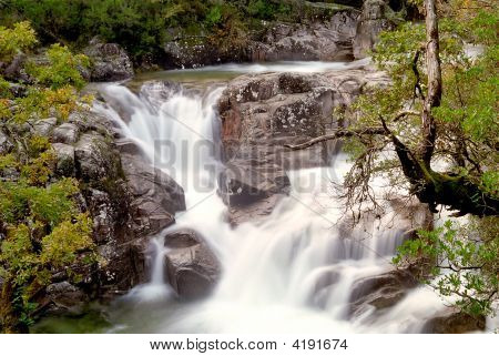 National Park Of GerêS (Portugal) Waterfall