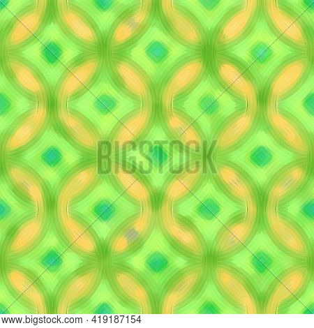 Seamless Colorful Striped Pattern, Color Paper, Artistic Pattern Illustration