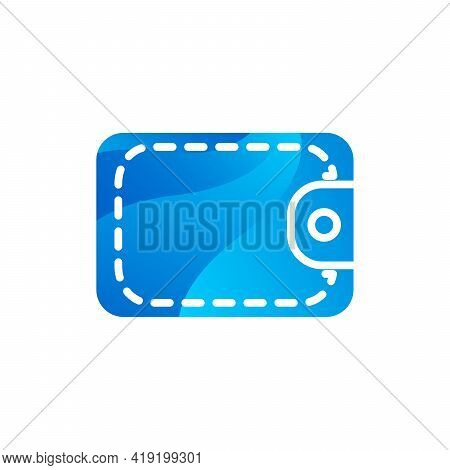 Wallet Cash And Bank Credit Cards Icon Vector
