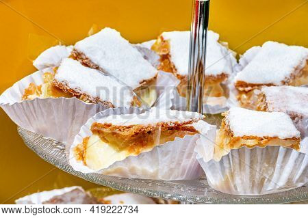 French Sweet, A Thousand Leaves Filled With Dulce De Leche