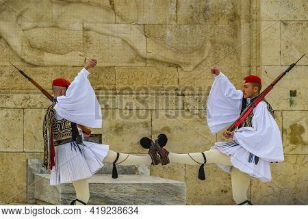 Evzon Guards, Syntagma Square, Athens