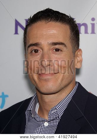LOS ANGELES - AUG 02:  KIRK ACEVEDO arriving to Summer 2011 TCA Party - NBC  on August 02, 2011 in Beverly Hills, CA