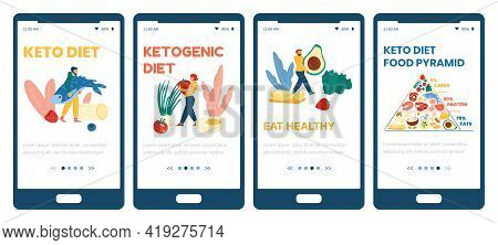 Mobile Phone Apps For People Following Keto Diet With Healthy Low Carb Nutrition