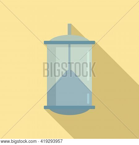 Bird Trap Icon. Flat Illustration Of Bird Trap Vector Icon For Web Design