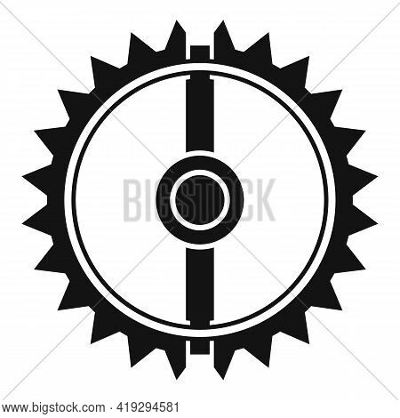 Round Animal Trap Icon. Simple Illustration Of Round Animal Trap Vector Icon For Web Design Isolated