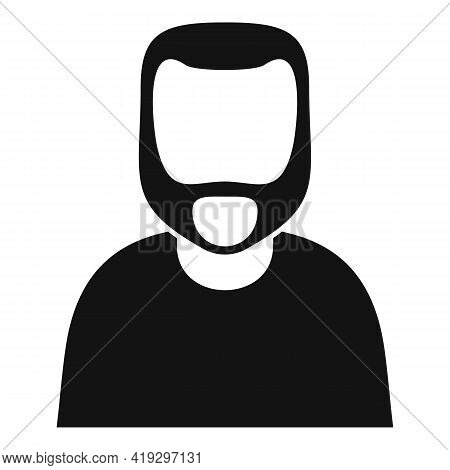 Illegal Immigrant Icon. Simple Illustration Of Illegal Immigrant Vector Icon For Web Design Isolated