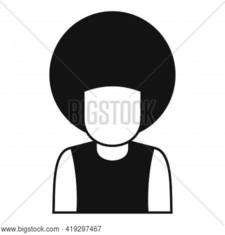 Afro American Immigrant Icon. Simple Illustration Of Afro American Immigrant Vector Icon For Web Des
