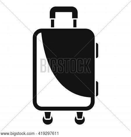 Immigrants Travel Bag Icon. Simple Illustration Of Immigrants Travel Bag Vector Icon For Web Design