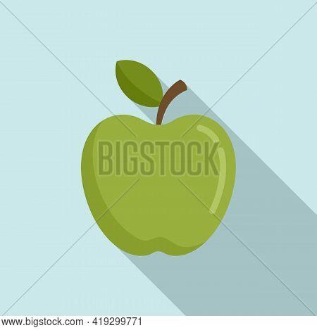 Fresh Apple Icon. Flat Illustration Of Fresh Apple Vector Icon For Web Design