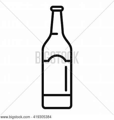 Alcohol Teen Problems Icon. Outline Alcohol Teen Problems Vector Icon For Web Design Isolated On Whi