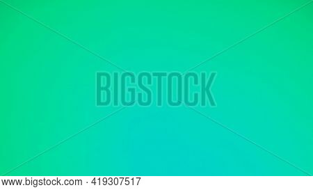 Abstract Blurred Gradient Background.green Mint , Tiffany Blue Color Background. Banner Template. Me