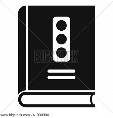 Traffic Rules Icon. Simple Illustration Of Traffic Rules Vector Icon For Web Design Isolated On Whit