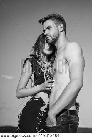 Deep In Love. Ethnic Tribal Fashion. Nude Feelings. Honeymoon Trip. Pleased With Each Other. Sexy Gi