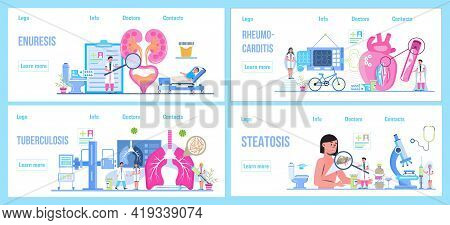 Pyelonephritis And Kidney Stones Diseases. Urarthritis, Cystitis