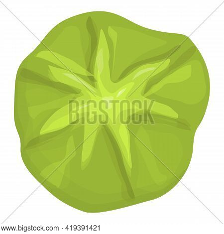 Traditional Wasabi Icon. Cartoon And Flat Of Traditional Wasabi Vector Icon For Web Design Isolated