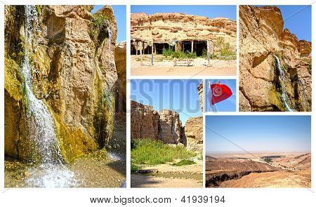 Oasis Tamerza - Tunisia, Africa