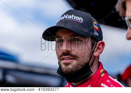 May 02, 2021 - Ft. Worth, Texas, USA: ALEXANDER ROSSI (27) of the United States prepares to race for the EXPEL 375 at the Texas Motor Speedway in Ft. Worth, Texas.