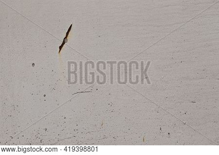 Old Rusty White Metal Background,abstract Texture, Corroded Metal Background, Rusty Painted Wall.