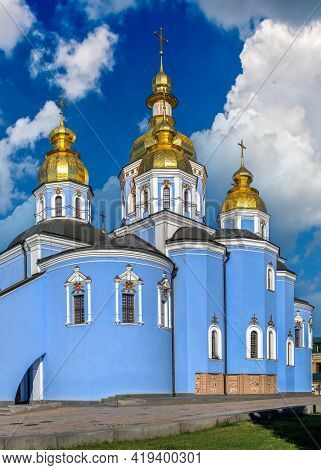 St. Michaels Golden-domed Monastery In Kyiv, Ukraine