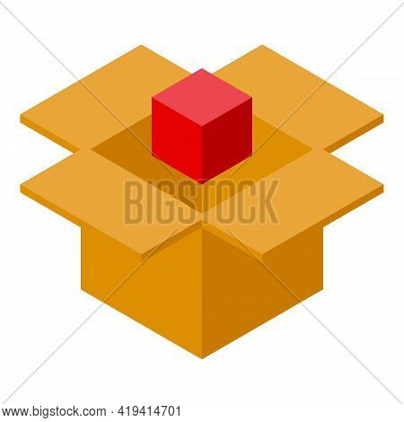 Product Placement Icon. Isometric Of Product Placement Vector Icon For Web Design Isolated On White